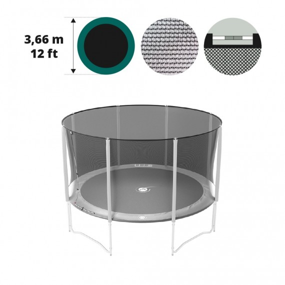 Filet textile medium pour trampoline 250