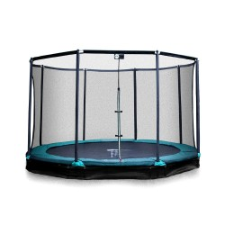 Inground Trampolin Mirage 360 mit Fangnetz