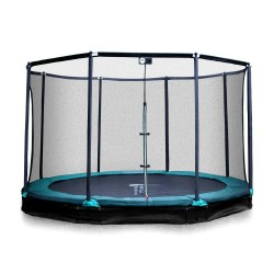 Mirage 430-Inground Trampolin mit Fangnetz