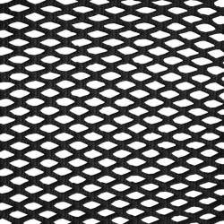 Wohnungsnetz aus geflochtenen 13 mm Maschen, schwarz