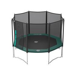 Jippieh 360-Trampolin mit Fangnetz