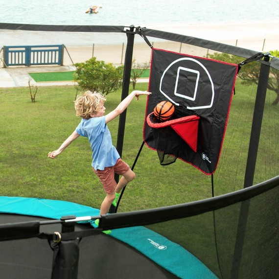 Junior Basketballkorb fürs Trampolin