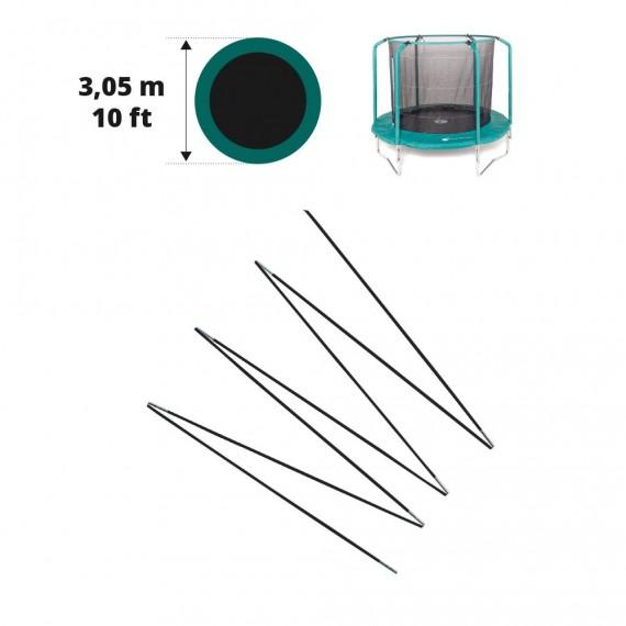 Fiberglasbögen für das Sicherheitsnetz des Oxygen Ø 305