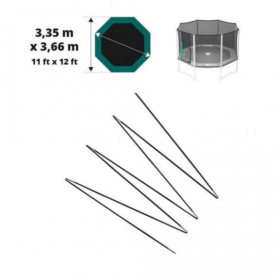 Fiberglasbögen für das Sicherheitsnetz des Jippieh 360