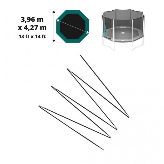Fiberglasbögen für das Sicherheitsnetz des Jippieh 430