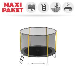 Maxi Paket Trampolin Initio 300 mit Netz + Leiter + Ankerset + Abdeckplane