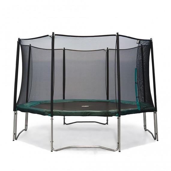Jippieh 430-Trampolin mit Fangnetz