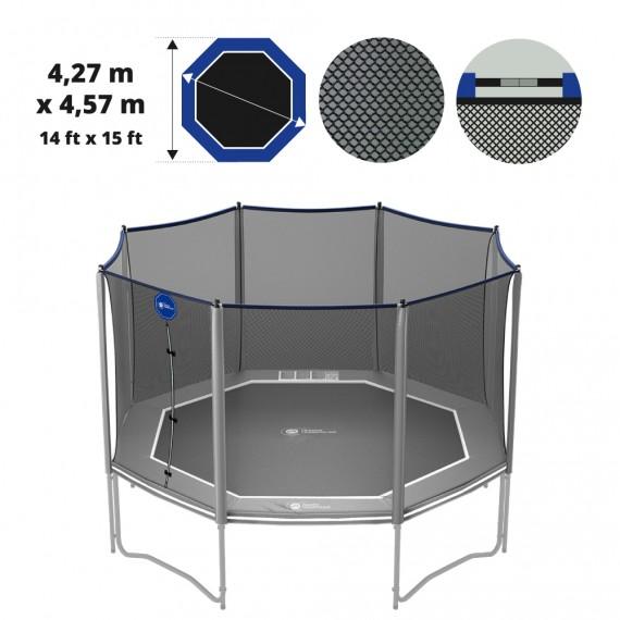 15ft Octopulse Premium trampoline net