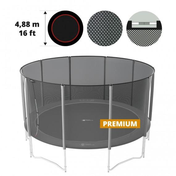 Premium Fangnetz für Trampolin 490