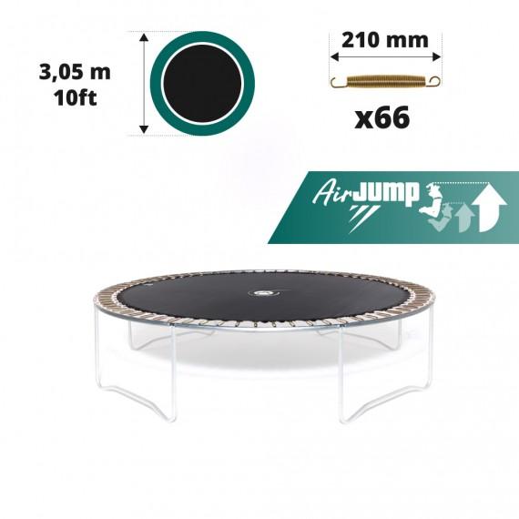 Sprungtuch für Trampolin Ø 305 für 66 x 210 mm Federn