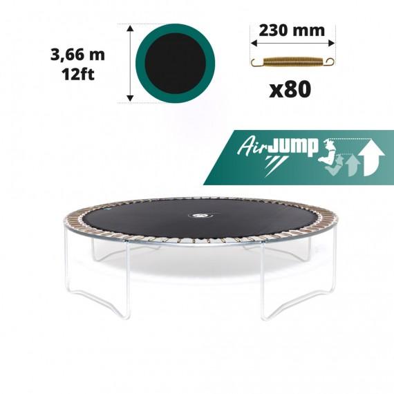 Sprungtuch für Trampolin Ø 366 für 80x 230 mm Federn