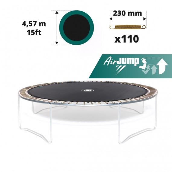Sprungtuch für Trampolin Ø 457 für 110x 230 mm Federn