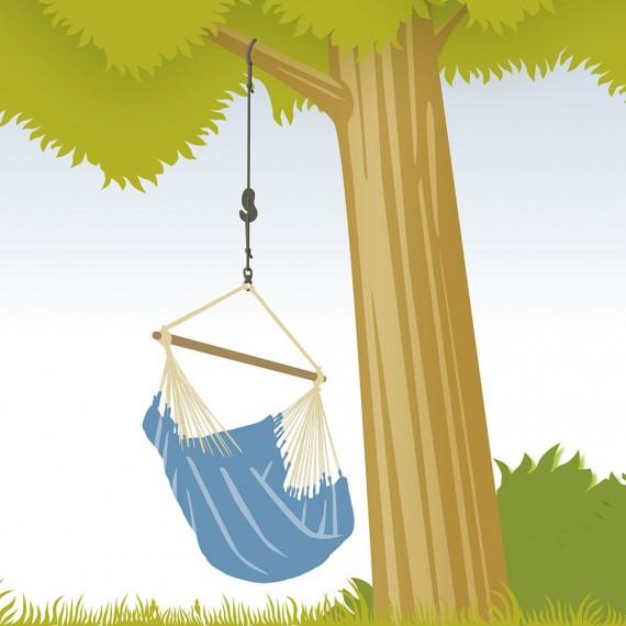 Set de fixation pour chaise hamac Tree Rope