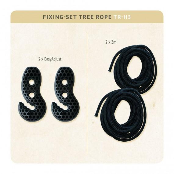Set de fixation pour hamac Tree Rope