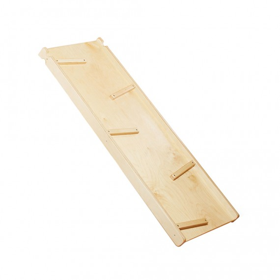 Doppelseitige Holzrutsche