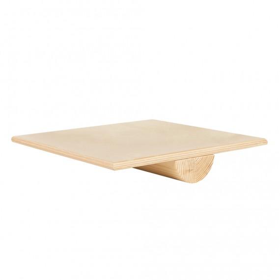 Quadratisches Balance Board aus Holz