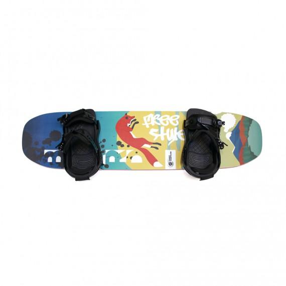 Freestyle Board mit Bindungen