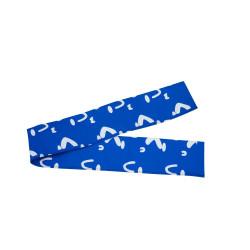Blaue Pfostenhüllen für das Sicherheitsnetz Hop! 360