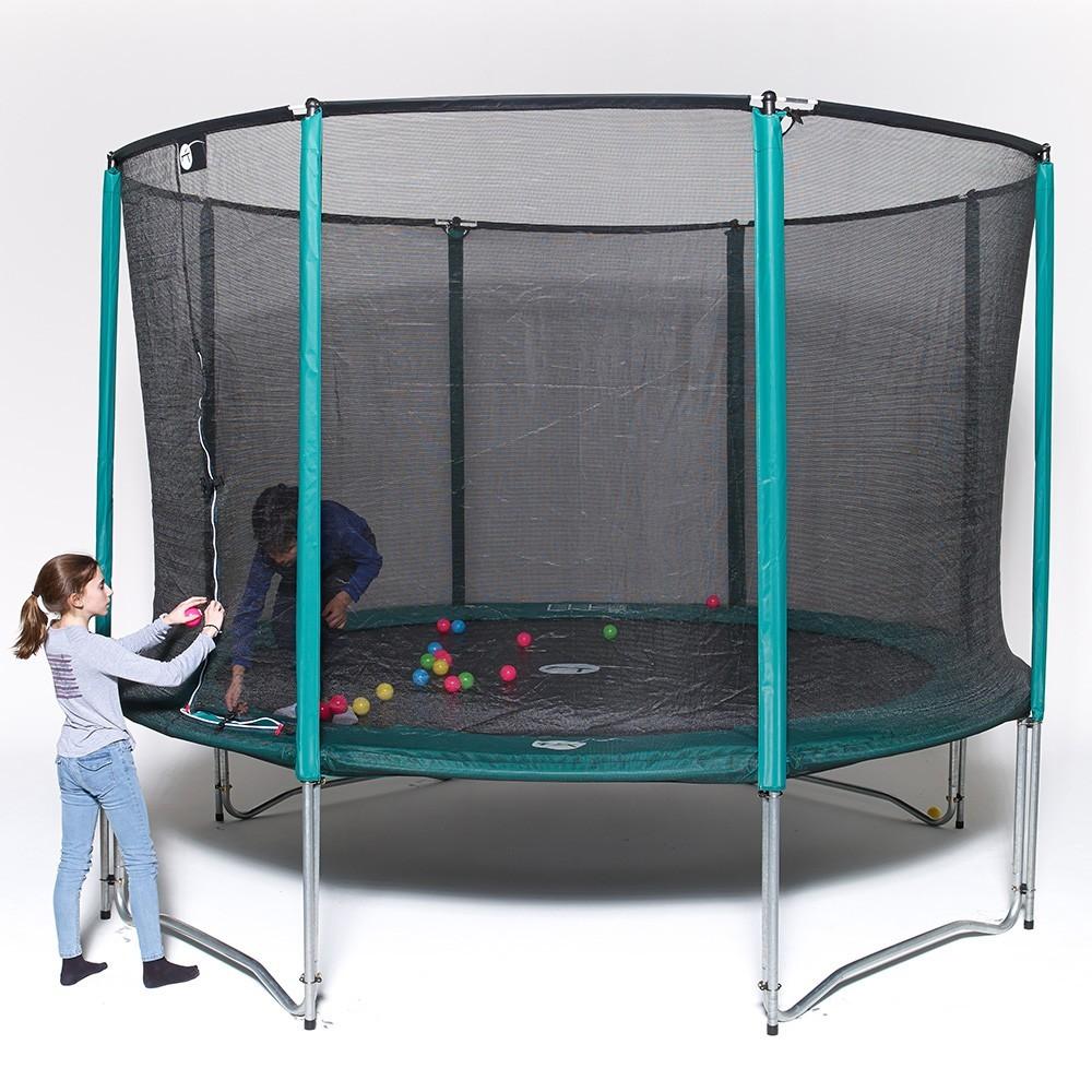 sicherheitsnetz f r trampolin 250. Black Bedroom Furniture Sets. Home Design Ideas