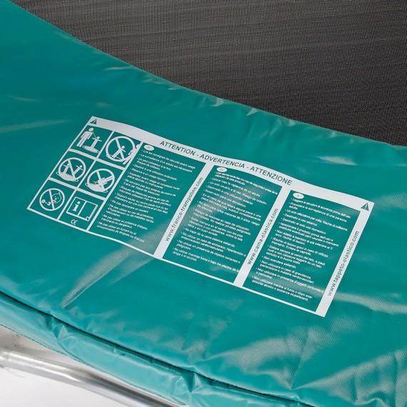 Grüner Schutzrand 430 20mm / 36cm