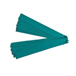 Grüne Pfostenhülle aus PVC für 32mm Durchmesser
