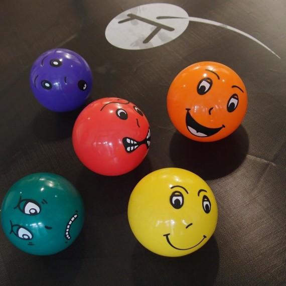 bunter Ballon für Kind