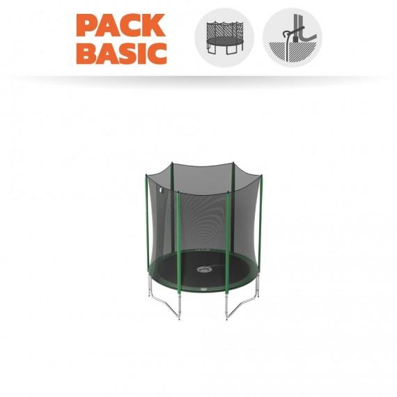 Starter Packet Trampoline Access 180 mit Netz + Ankerset
