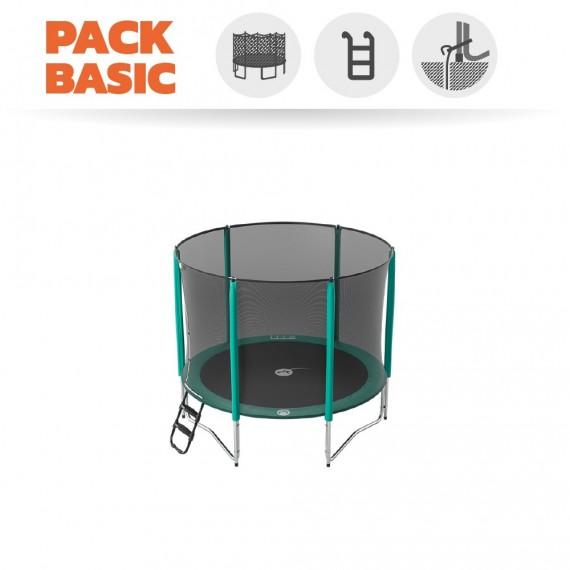 Starter Packet Trampoline Jump'Up 250 mit Netz + Leiter + Ankerset