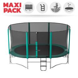 Maxi Packet Ovalie 490 mit Netz + Leiter + Erdanker + Abdeckplane