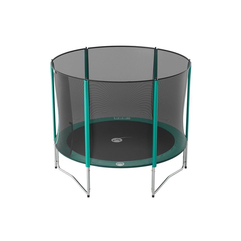 trampolin mit 3 05 m durchmesser ein kleines familienfreundliches schwungvolles modell. Black Bedroom Furniture Sets. Home Design Ideas