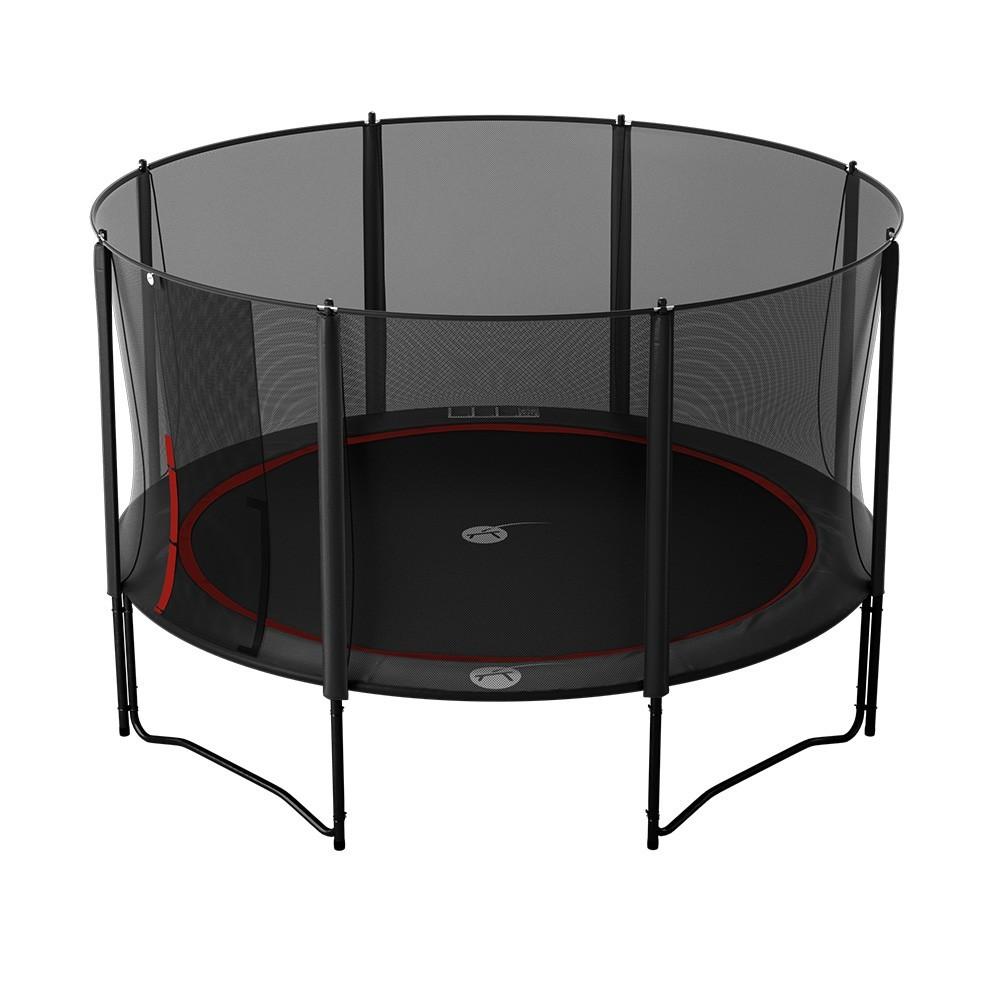 trampolin booster black 430 mit netz. Black Bedroom Furniture Sets. Home Design Ideas