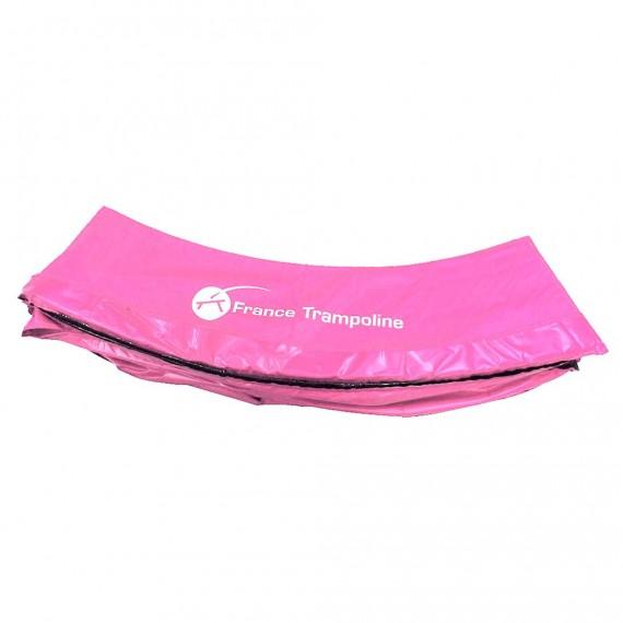 Rosa Schutzrand für rundes Trampolin 300