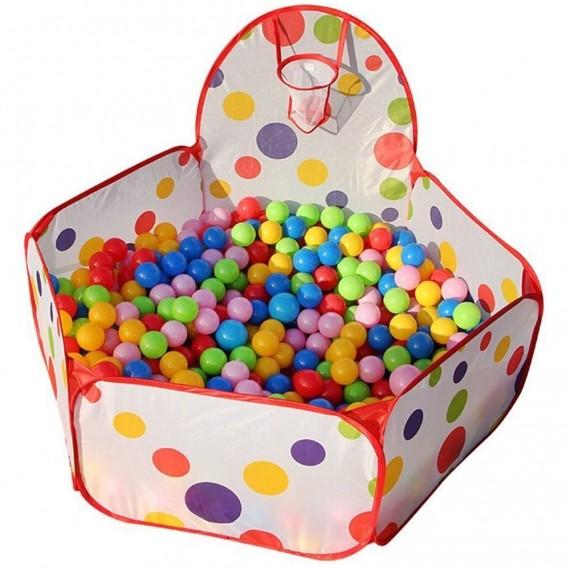 Bällebad für Kinder + 200 Bälle