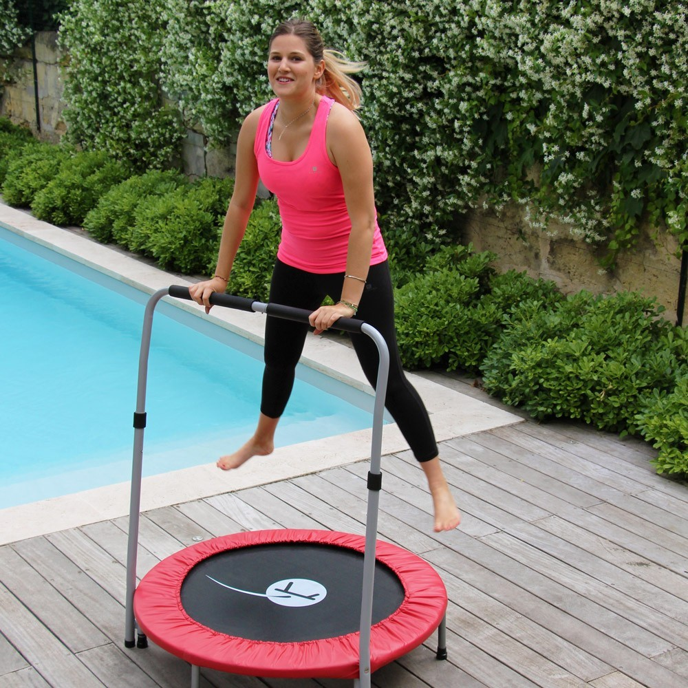 das preisg nstige trampolin minimax mit haltestange. Black Bedroom Furniture Sets. Home Design Ideas