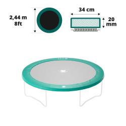 Schutzrand für rundes Garten Trampolin 250 20mm / 30cm
