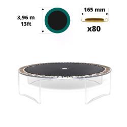 Sprungtuch für Trampolin Ø 396 für 80x 165 mm Federn
