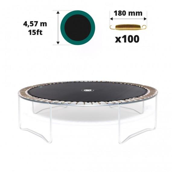 Sprungtuch für Trampolin Ø 457 mit 100x 180 mm Federn