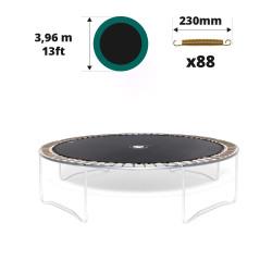 Sprungtuch für Trampolin Ø 396 für 88x 230 mm Federn