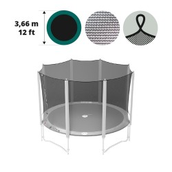 Fangnetz mit Schlaufen für Trampolin 360