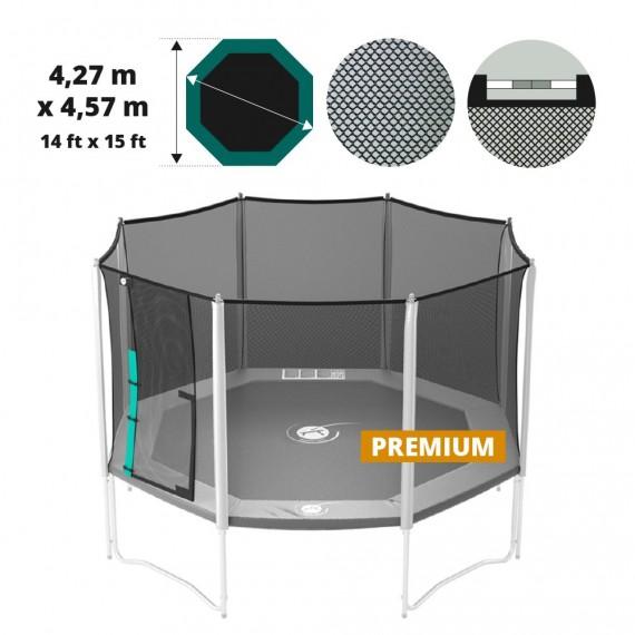 15ft Waouuh Premium trampoline net