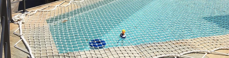 Netz für den Pool