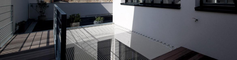 Geländernetze und Netze zum Ausruhen um seinen Aussenbereich zu genieβen