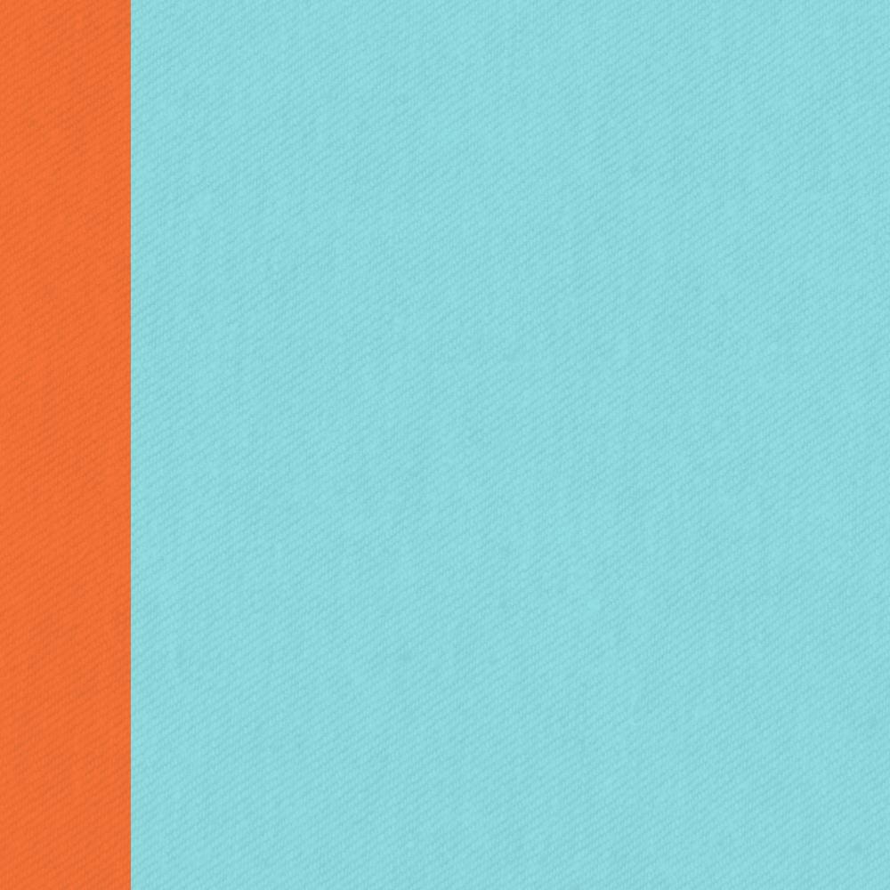 Turquoise orange