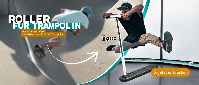 Roller für Trampolin Indo