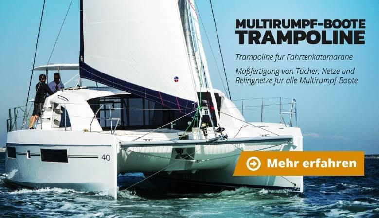 Multirumpf-Boote Trampoline