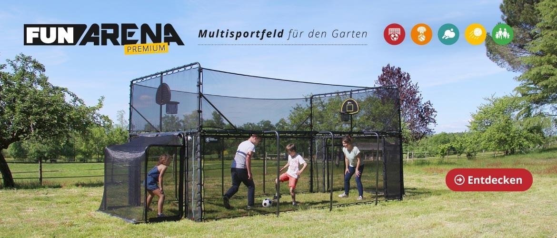 Fun Arena: Multisportfeld für den Garten !