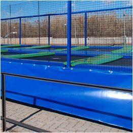 Rahmenschutz für Profi-Trampoline