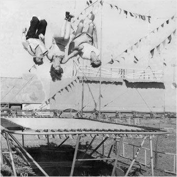 Die Geschichte des modernen Trampolins
