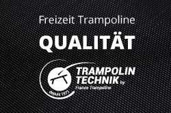 Qualitätsgartentrampoline