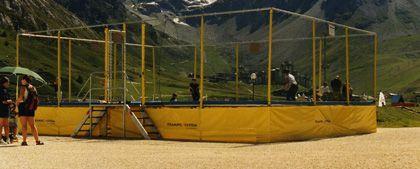 IMPULS Anlage - 6 rechteckige Trampoline